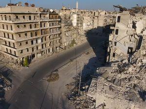 Syrian troops take rebel-held Farafra district in central Aleppo