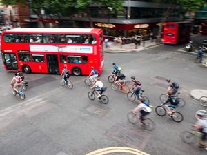 London mayor plans to ban thousands of lorries to protect cyclists