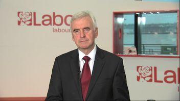 The shadow chancellor John McDonnell