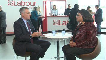 Shadow Health Secretary Diane Abbott MP