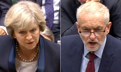 Prime Minister and Jeremy Corbyn clash over new grammar schools plan