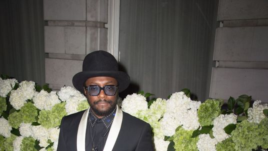 Will.i.am attends a dinner to celebrate the launch of the 4th Business of Fashion (BOF) index, at the London Edition