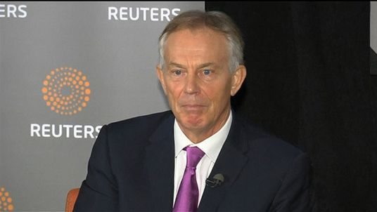 Tony Blair makes discusses Brexit and the Labour leadership