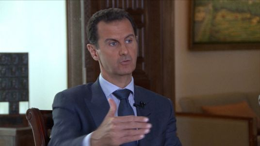 Bashar Al-Assad on the Syria crisis