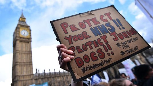 Junior doctors are to stage 20 strike days