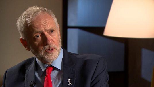 Jeremy Corbyn talks to Faisal Islam