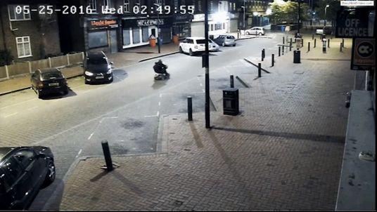 Dagenham pharmacy burglary with a mobility scooter getaway