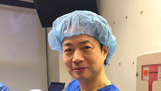 Dr Zhang and Abrahim