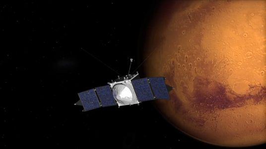 Courtesy: NASA  A computer animation of Mars