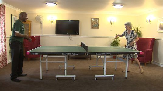 Table tennis is described as the world's best 'brain sport'