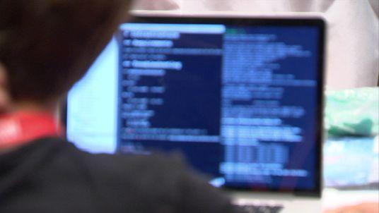 Computer screen.
