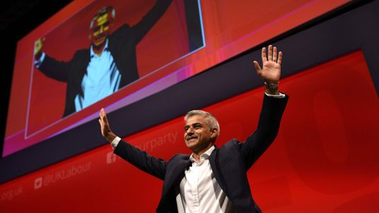 Sadiq Khan shows the Labour Party Conference a winner