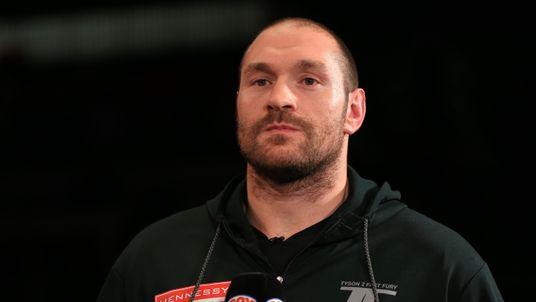 World heavyweight champion Tyson Fury