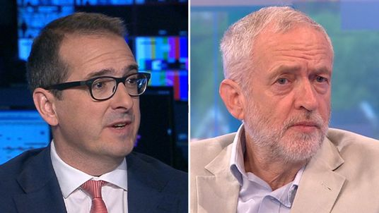 Owen Smith on Sky and Jeremy Corbyn on ITV's Peston