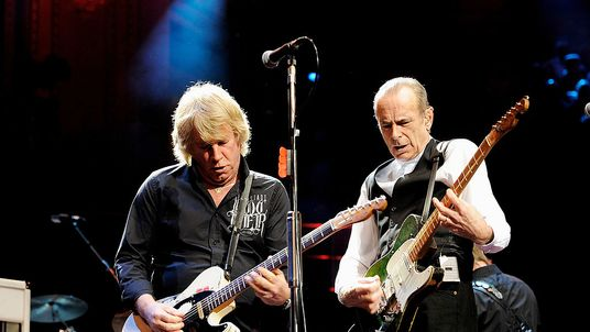 Rick Parfitt (L) at The Prince's Trust Rock Gala 2010