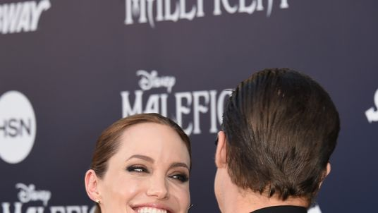 The couple at the world premiere of Maleficent in May, 2014, in Hollywood