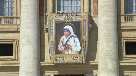 The Vatican formally declares Mother Teresa a saint