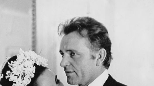 Elizabeth Taylor and Richard Burton married twice, and divorced twice
