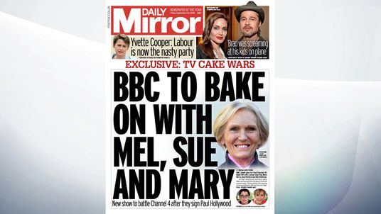 BBC chiefs plan to rival Channel 4's Bake Off with a show starring Mary Berry