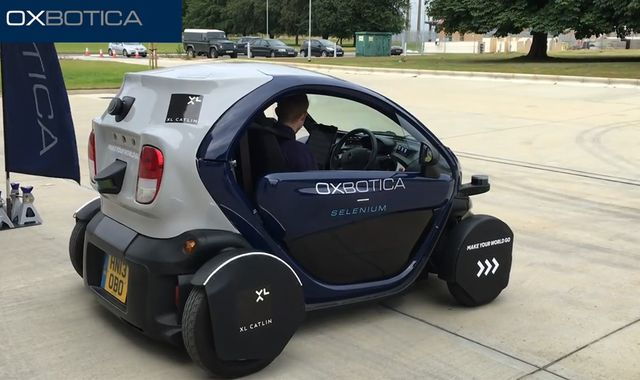 The first United Kingdom public trial for driverless cars has begun