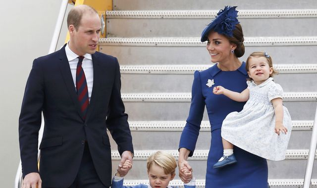 Canada welcomes William, Kate and children