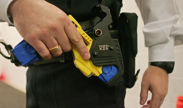Blind man tasered as police mistake cane for gun