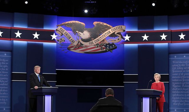 Trump and Clinton clash in first presidential debate