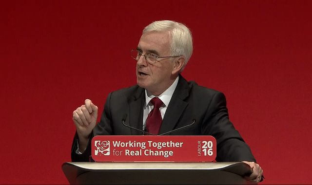 John McDonnell vows 'no more Philip Greens' under Labour clampdown