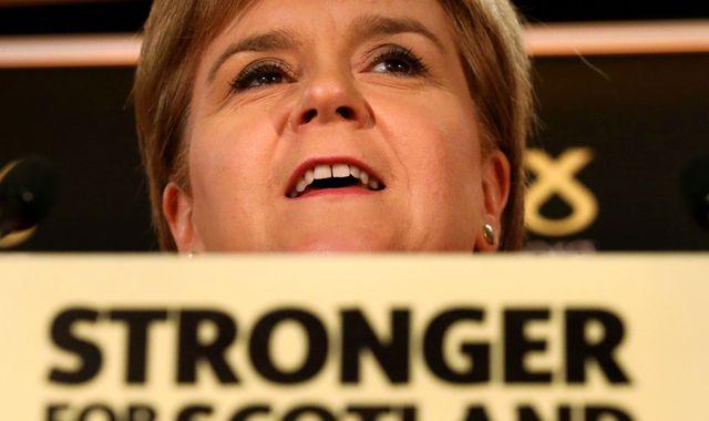 Scotland's Sturgeon says to prepare independence legislation
