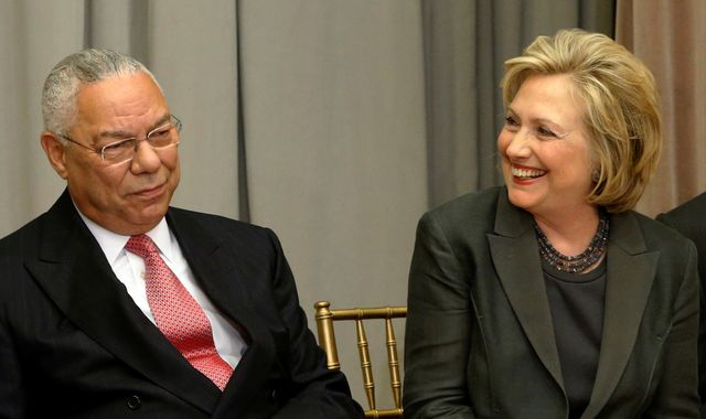 Former Republican Secretary of State Colin Powell to vote for Hillary Clinton