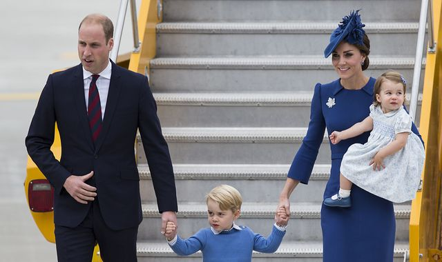 Royal tour: Charlotte and George steal the show in Canada