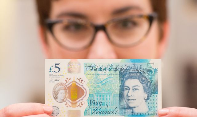 Tallow tensions: Vegans want 'fat-free' United Kingdom 5-pound bank note