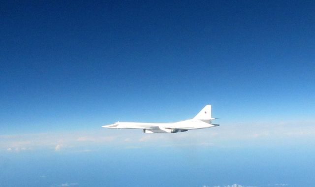 British fighters intercept Russian bombers near United Kingdom airspace