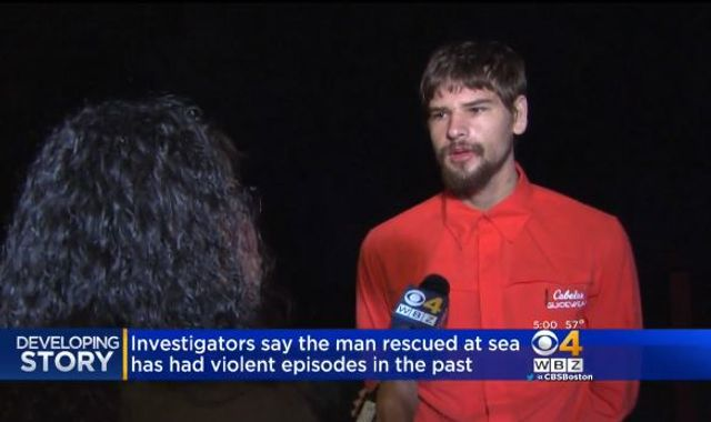 Nathan Carman says he is not responsible for mother's boat death