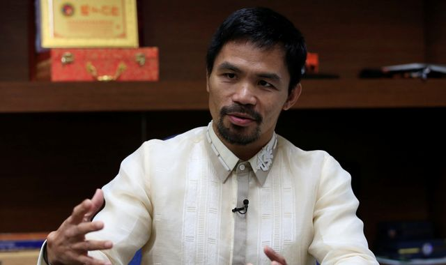 Manny Pacquiao admits drug use as he backs Duterte's crackdown