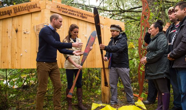 William and Kate visit Great Bear Rainforest on Canada royal tour
