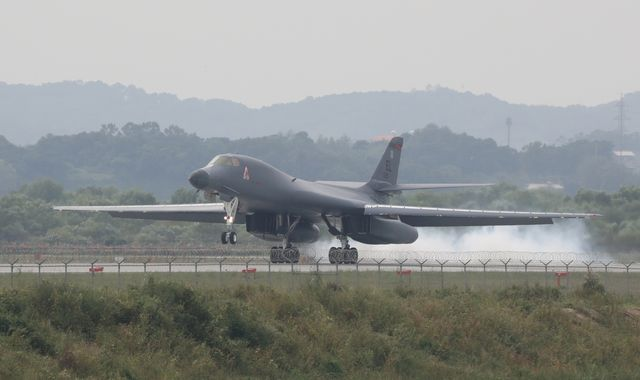 North Korea says US could spark 'nuclear war' as bombers fly close to border