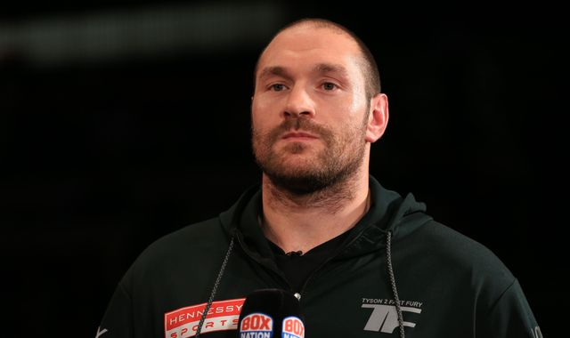 World heavyweight champion boxer Tyson Fury fails drugs test