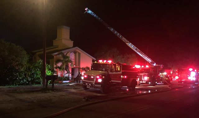 Mosque Of Orlando Gunman Target Of Arson