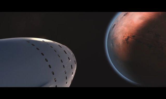 Tech billionaire Elon Musk unveils his plans for humans to colonize Mars