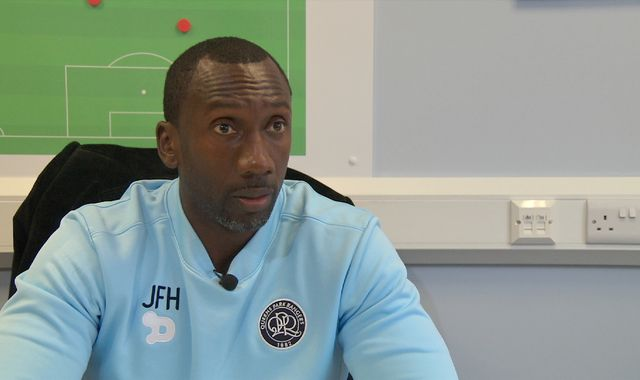 Jimmy Floyd Hasselbaink pleads innocence after newspaper names him in corruption investigation