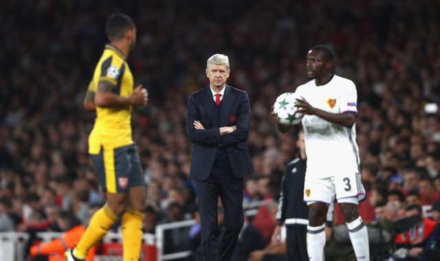 Wenger hails Gunners' first-half performance