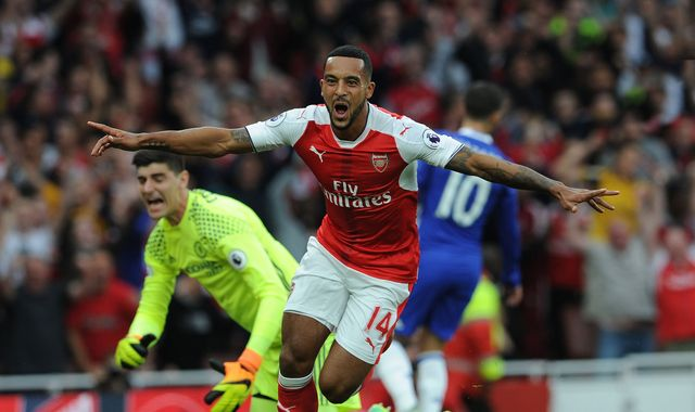 Summer chat to Wenger fixed Walcott's form
