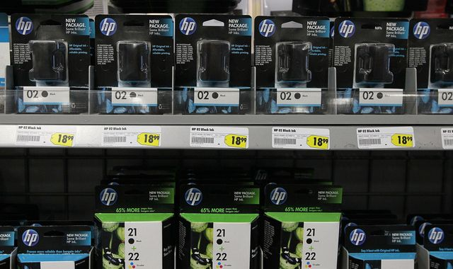 HP backtracks on software which blocks unofficial printer ink