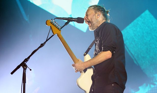 Radiohead will be headlining Glastonbury 2017
