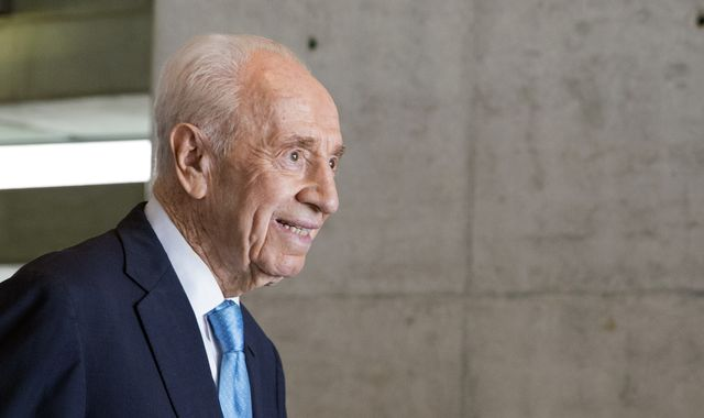 Former Israeli president Shimon Peres was a hawk-turned-dove