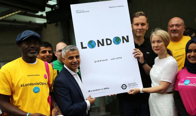 Sadiq Khan pushes for post Brexit London work visas