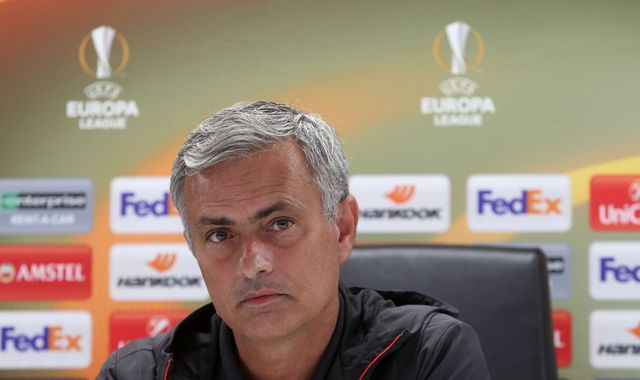 Mourinho to return to 'normal team' against Watford