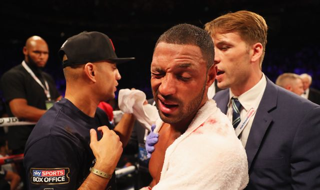Brook has surgery on broken eye socket