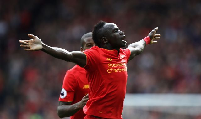 Liverpool forward Mane named player of month